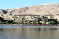 Columbia Hills from Celilo