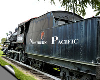 Northern Pacific Railway Locomotive #1354