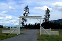 Fort Spokane Gate (2)