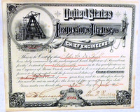 Cheif Engineer's License