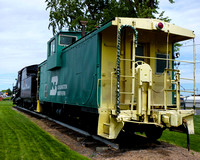 Burlington Northern Railroad Caboose