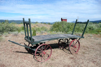Sumpter Valley Railroad Baggage Cart