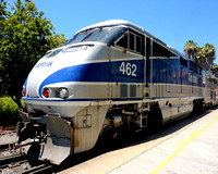 Amtrak Surfliner at Santa Fe Station