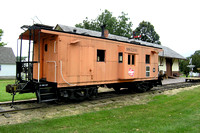 Chicago Milwaukee St. Paul & Pacific Railroad Caboose