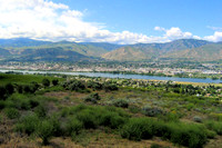 Confluence of the Columbia & Wenatchee Rivers