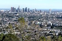 Downtown from Griffith Park