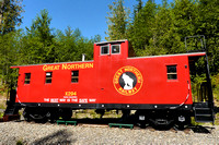 Great Northern Railway Caboose