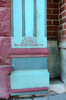 1890s Baker City Iron Works Pilaster (1)