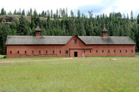 Fort Spokane Quartermaster's Stable